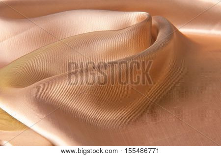 Silk Cloth, The Color Coral