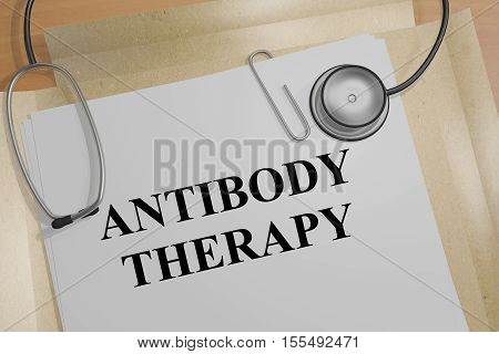 Antibody Therapy - Medical Concept