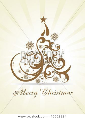 beautiful vector christmas artistic background