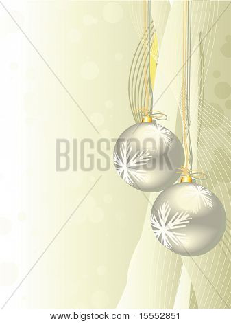 vector beautiful shiny christmas background