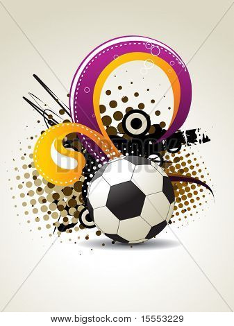 football vector artistic design