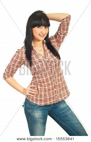Fashionable Casual Woman