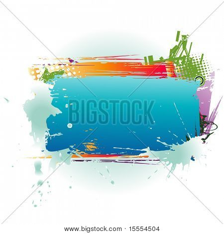 vector colorful box with space for your text