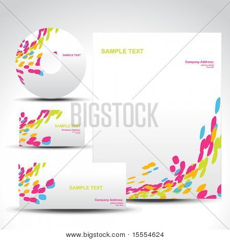 vector style template art illustration