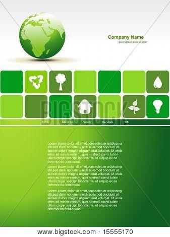 vector editable earth website