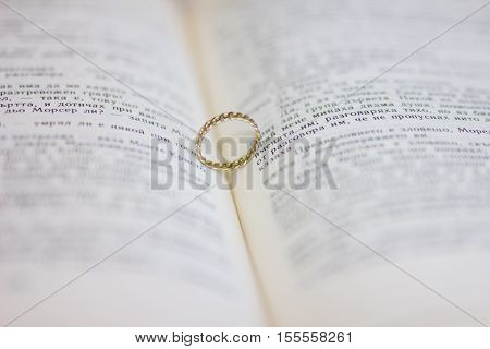 A wedding ring in the bible. A engagement ring in the bible.