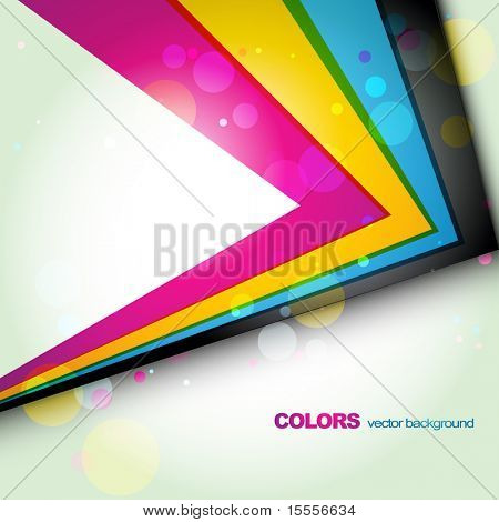 stylish vector colorful template. Eps10 illustration