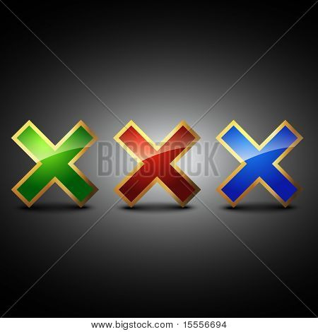 cross symbol vector shape illustration