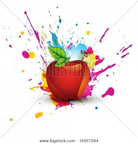abstract colorful abstract design art
