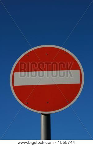 No Entry (0856)