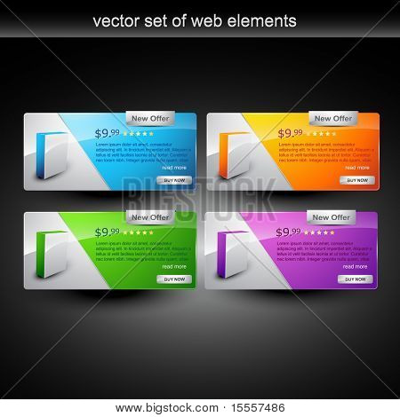 web products display for sale