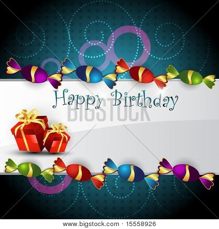 vector birthday design art