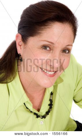 Beautiful Senior Business Woman Portrait