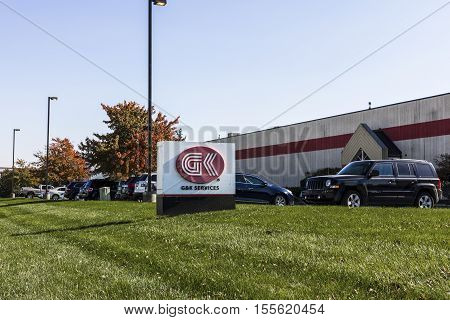 Indianapolis - Circa November 2016: G&k Services Regional Warehouse. G&k Offers Uniform Rental And U