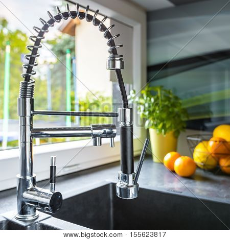 Modern Tap In Kitchen Sink