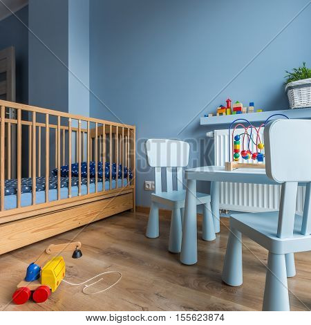 Blue Child's Room Idea