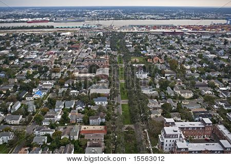 New Orleans one year after Hurricane Katrina