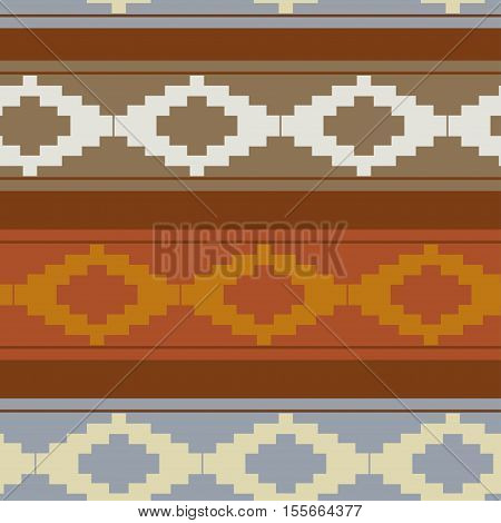 Seamless texture with traditional pattern? ethno style