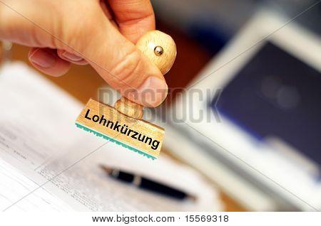 Lohn-Schnitt