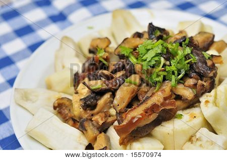 Unique Chinese Style Brinjal Dish