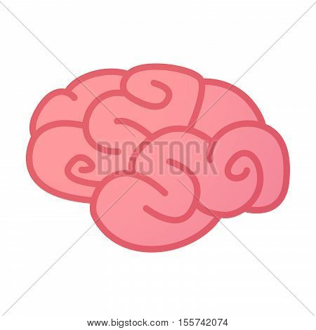 Isolated Brain Icon With    The Text Buy Now