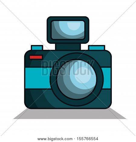 camera photographic isolated icon vector illustration design