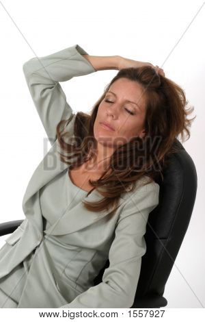 Relaxing Business Woman 1