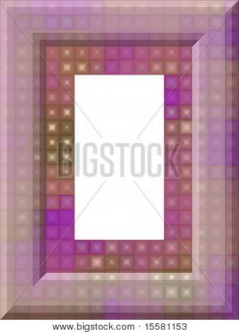 Soft squares frame
