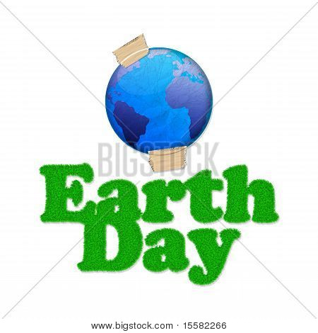 Earth Day And Globe