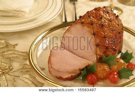 Juicy Smoked Ham
