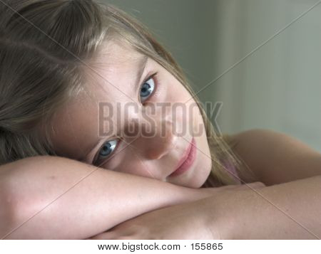 Verschlafenen Augen