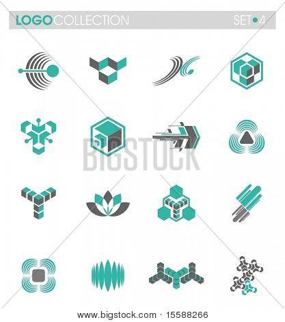 Conjunto de recopilación de logo - #4