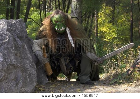 Ogre In The Forest
