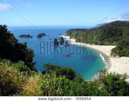 Monro Beach, West Coast, South Island, New Zealand