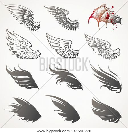 Vector-Set Wings