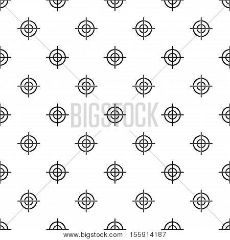 Target crosshair pattern. Simple illustration of target crosshair vector pattern for web