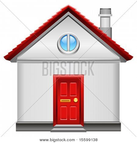 realistic vector home icon