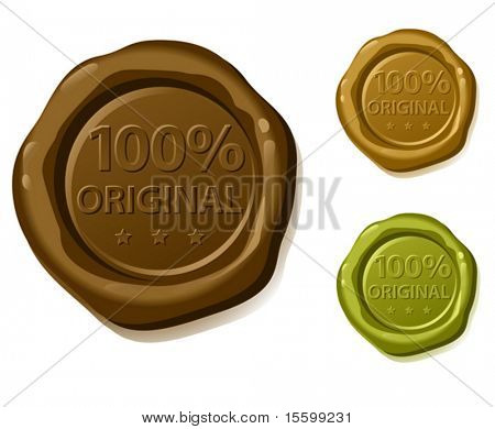 100% original vector sealing wax