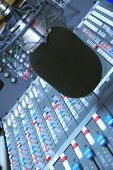 Studio Microphone And Editing Suite poster