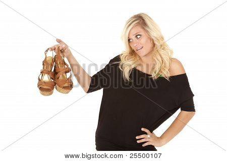 Woman Wants Shoes
