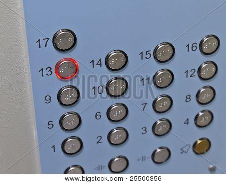 Elevator Control Panel