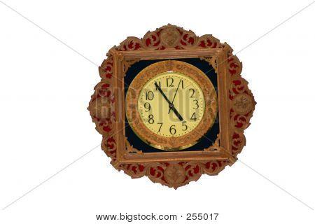 Sandlewood Clock