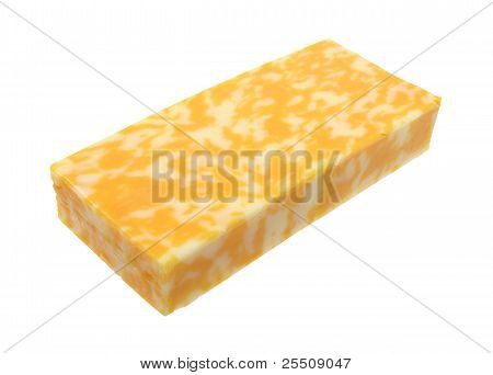 Block Of Colby Jack Cheese