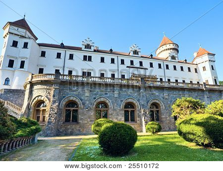 Konopiste Castle In Czech Republic