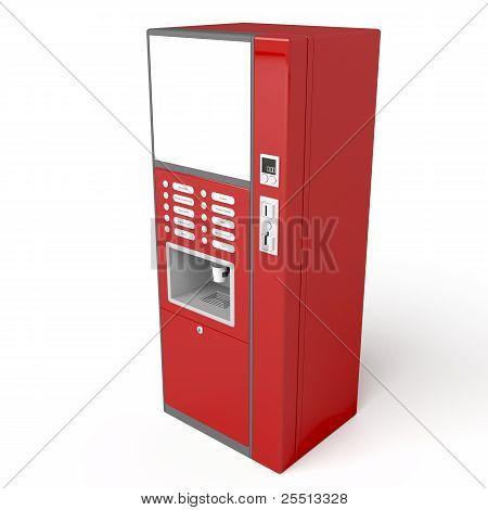 Red Vending Machine