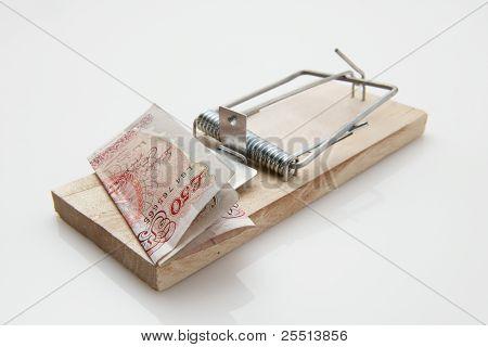 Maus Trap-50-Pfund-Note