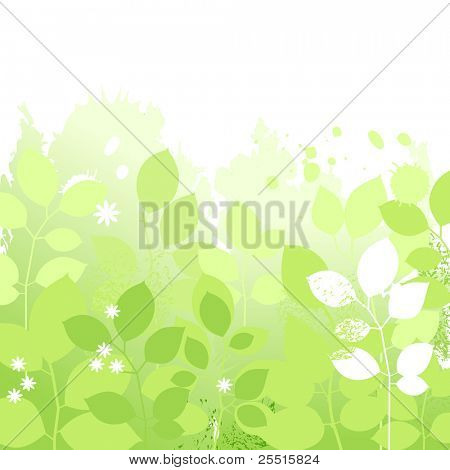 Light spring floral background