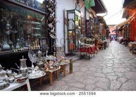 Traditional Handcrafts In Bascarsija, Sarajevo