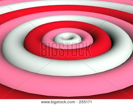 3d - Funky Pink Rings