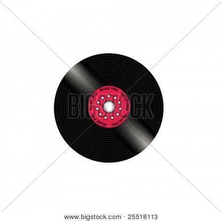 Vinyl plate